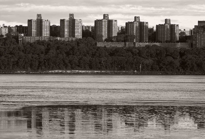 Reflected on the Hudson